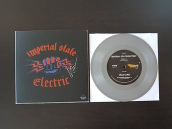 Imperial State Electric Dead Lord silver grå vinyl Hellacopters Nicke signerad