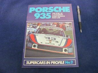 PORSCHE 935 - Supercars In Profile No2