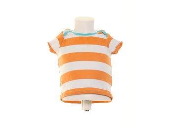 Ladybird, T-shirt, Strl: 80, Orange/Vit/Blå