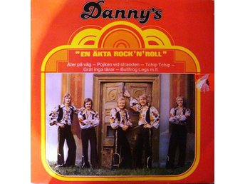 LP Danny´s  En äkta rock´n´roll