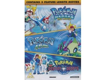 DVD Pokemon  Triple movie box