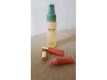 Kanebo relaxing fragrant mist body treatment samt Clarins color quench lip balm