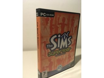 The SIMS Superstar expansion pack, PC-CD-ROM