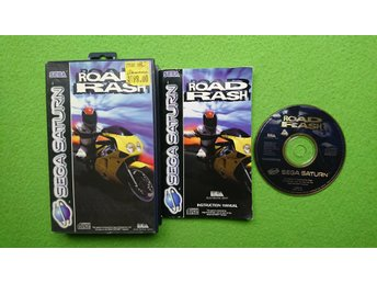 Road Rash KOMPLETT Sega Saturn