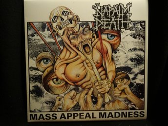 Napalm Death Mass Appeal Madness  12""