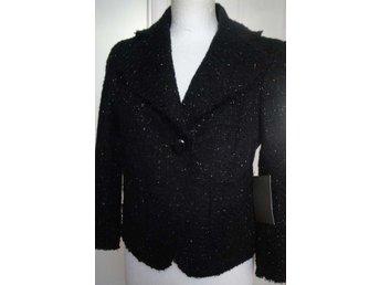 Chic snygg svart glittrig kort kavaj från Zara Ny ef82089a437d7