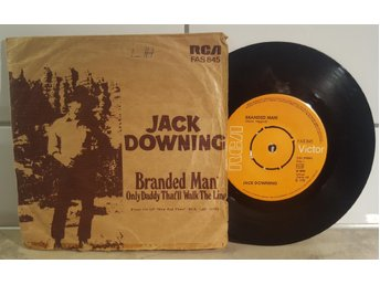 Jack Downing - Branded man