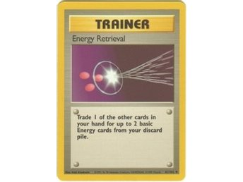 Pokémonkort: Energy Retrieval 81/102 [Base Set]