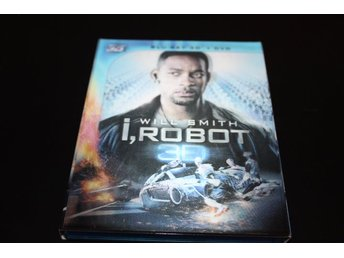 Blu-ray3D+DVD: I, Robot 3D (Will Smith)