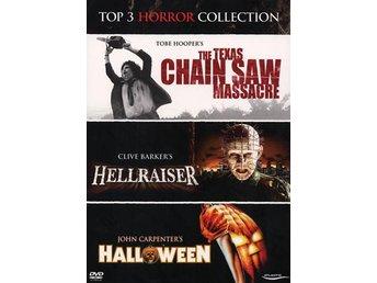 Javascript är inaktiverat. - Nossebro - Texas Chainsaw Massacre, Hellraiser, Halloween. Tobe Hoopers ökända mästerverk Texas Chainsaw Massacre startade moralpaniken för det växande videovåldet, men blev nyligen framröstad som århundradets bästa skräckfilm. Texas chainsaw ma - Nossebro