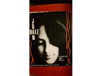 JOAN BAEZ  Country Girl Album Songbook 1966