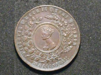 ENGLAND ÄLDRE MODEL COIN