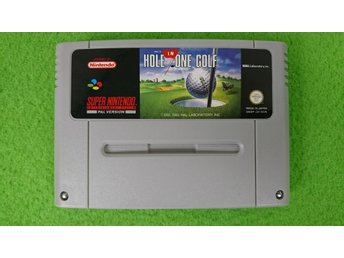 Hole in One Golf SCN Super Nintendo Snes