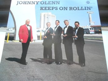 LP JOHNNY OLENN KEEPS ON ROLLIN