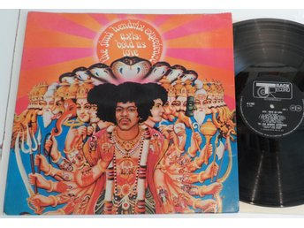 Jimi Hendrix - Axis Bold As Love - UK  LP - Track Records
