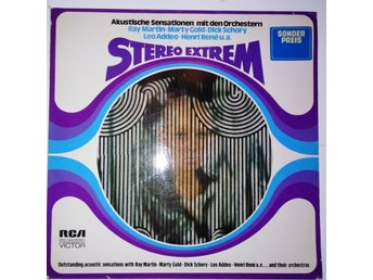 VA - Stereo extrem - The sound your eyes can follow. Leo Addeo, Marty Gold mfl