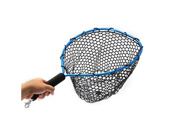 54*30cm Landing Fly Fishing Net Mesh Trount Bass Fishing ...