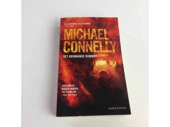 Bok, Det brinnande rummet, Michael Connelly, Pocket, ISBN: 9789113073392