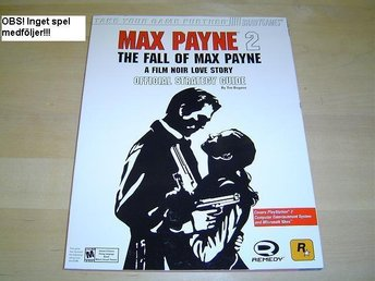 GUIDE TILL MAX PAYNE 2 SONY PLAYSTATION 2 PS2 *NYTT*