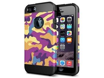 Mobilskydd Camouflage Lila Iphone 6 - Gävle - Mobilskydd Camouflage Lila Iphone 6 - Gävle