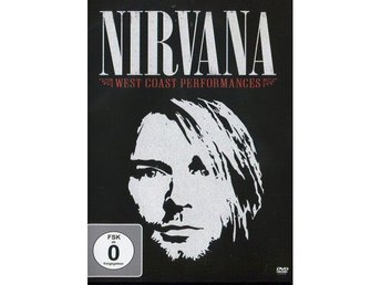 Nirvana -West coast performances 1989-1993 dvd Kurt Cobain