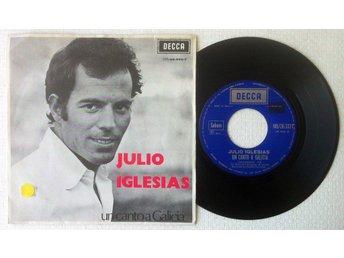 """JULIO IGLESIAS 'Un Canto A Galicia' 1972 Belgian 7"""" - Bröndby - JULIO IGLESIAS 'Un Canto A Galicia' 1972 Belgian 7"""" - Bröndby"""
