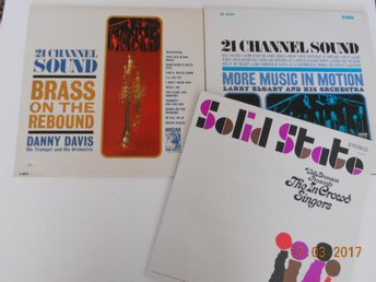 MGM 21 CHANNEL SOUND + SOLID STATE - 3 st LP USA