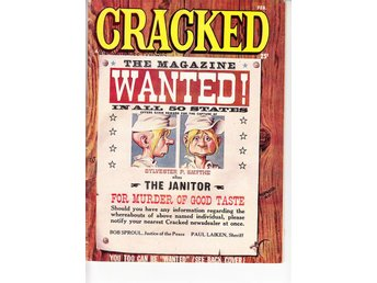 Cracked Magazine Feb 1961 / VG+ / bra lässkick