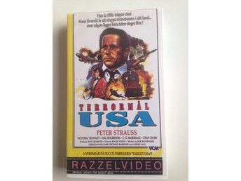 Vhs: Terrormål USA ( under siege ) - Peter strauss