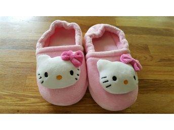 Hello Kitty inne tofflor/skor stl 31-32. - Höllviken - Hello Kitty inne tofflor/skor stl 31-32. - Höllviken