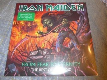 Iron Maiden - From fear to eternity - PIC DISC - Oöppnad - Karlstad - Iron Maiden - From fear to eternity - PIC DISC - Oöppnad - Karlstad