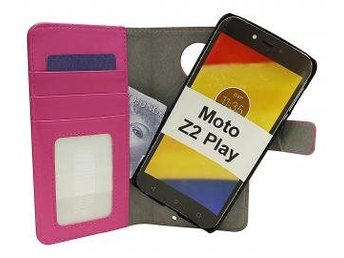 Magnet Wallet Moto Z2 Play (Hotpink)