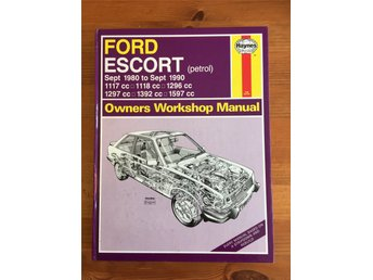 Reparationshandbok Ford Escort 80-90