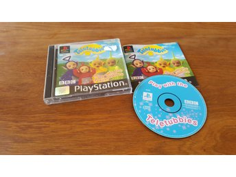PLAY WITH THE TELETUBBIES PS1 BEG