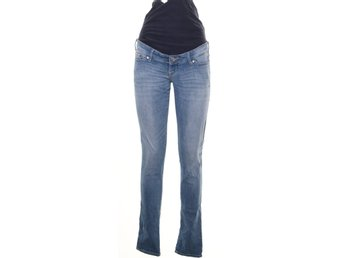 &Denim by H&M, Gravidbyxor, Strl: 36, Blå