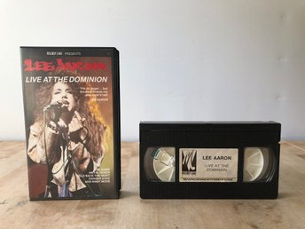 Lee Aaron - Live at the dominion - VHS