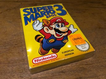 Nintendo, NES***Super Mario Bros 3***CIB***Version nr2***