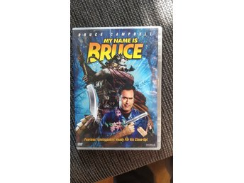 My name is Bruce dvd Campbell gold lick evil dead  skräck splatter hawaiiskjorta