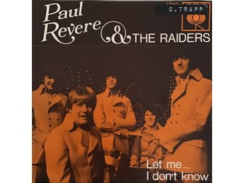 Paul Revere and the Raiders - Let me / I don't know - 1969