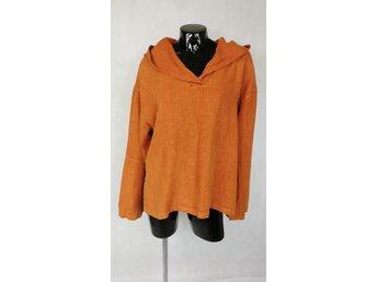 6762646d0e5f Uno Danmark / lin / linne hoodie / Storlek one size / L / XL !