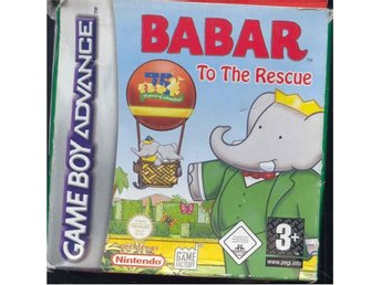 Babar - To the rescue - Ny GBA