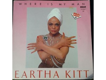 EARTHA KITT - WHERE IS MY MAN - MAXI