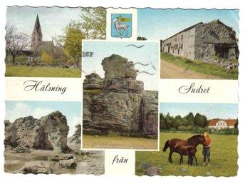 Gotland - Sudret, flerbildsvy, Pressbyrån FT 24156 - Segeltorp - Gotland - Sudret, flerbildsvy, Pressbyrån FT 24156 - Segeltorp