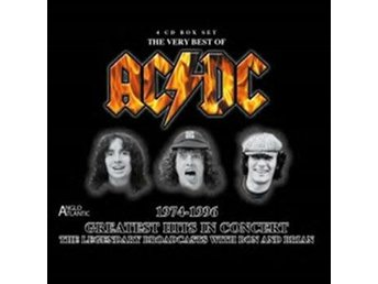 AC/DC: Greatest Hits In Concert 1974-96 (3CD)