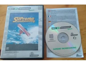 Supreme Snowboarding PC CD
