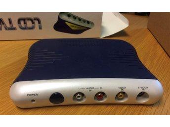 LCD TV-BOX koppla in video, RF-signal och använd en datormonitor för att se på.. - Lidköping - LCD TV-BOX koppla in video, RF-signal och använd en datormonitor för att se på.. - Lidköping