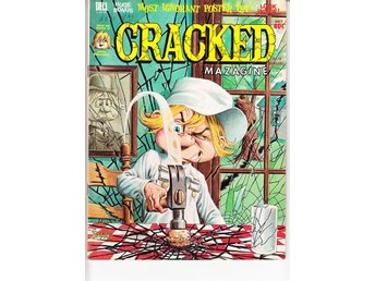 Cracked Magazine nr 98 (1972)  / VG+ / bra lässkick