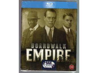 Boardwalk empire 4 blu-ray Inplastad Bonus features Board walk empire