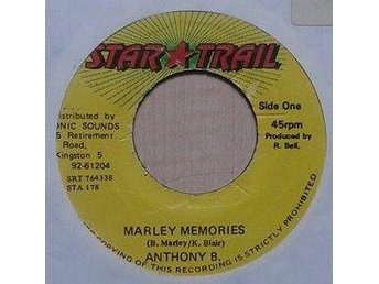 Anthony B. title *Marley Memories* Reggae, Dancehall 7