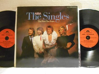 ABBA - THE SINGLES - 2-LP - POLYDOR